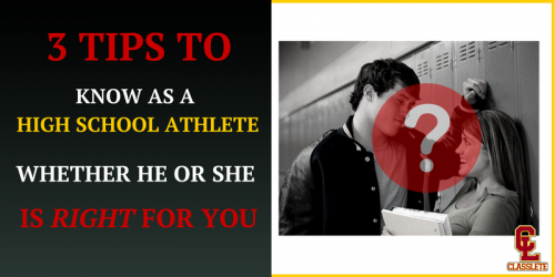 Dating high school athletes