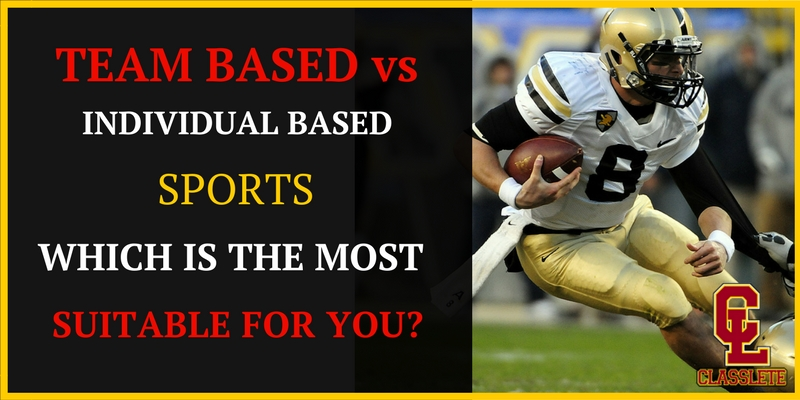 Team-based vs. Individual Sports