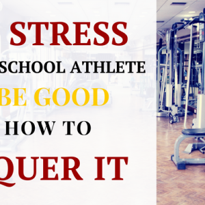 high school athlete stress