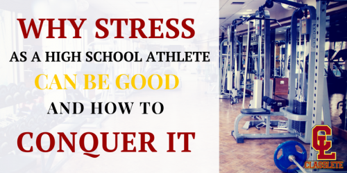 high school athlete stress