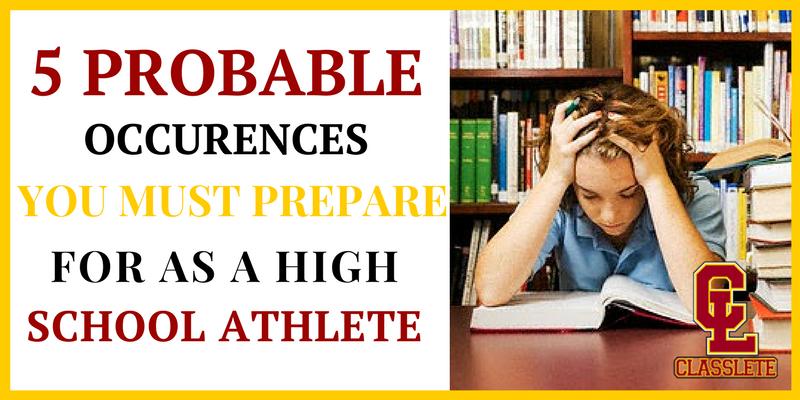 high school student athlete