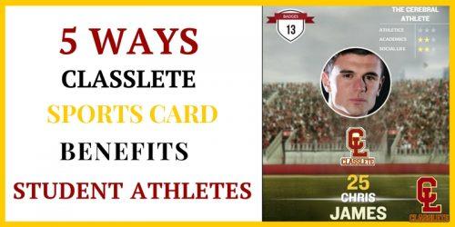 Sports Card Benefits Athletes