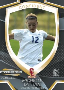 Primetime Sports Card Front Female Soccer Player