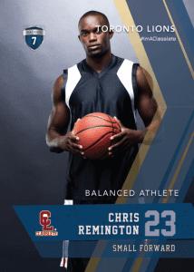 Maverick Dark Blue Classlete Sports Card Front Male Basketball Player